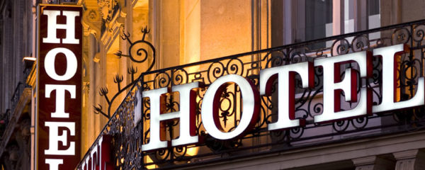 Business trip hotel